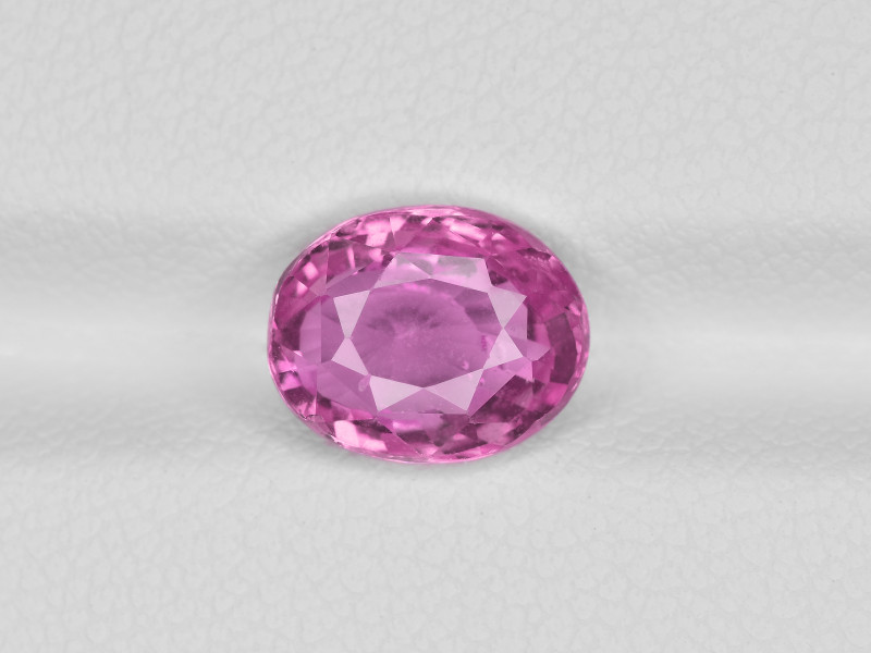 Pink Sapphire, 2.73ct - Mined in Madagascar | Certified by IGI