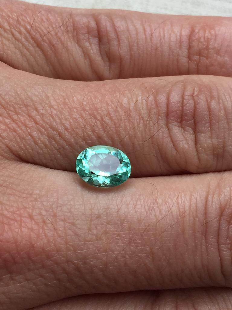 2,66ct Colombian Emerald Ref 55/76