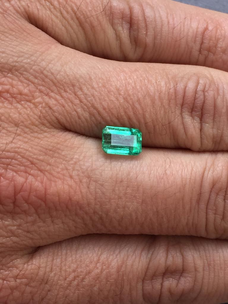 2,47ct Colombian Emerald Ref 57/76