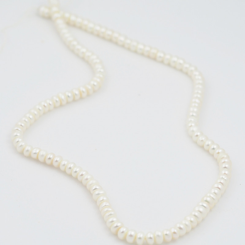 45 cm Fresh Water Pearl Stand IvoryPearls GWE 2006 c