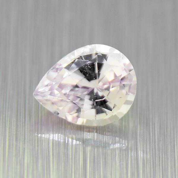 Unheated Sapphire 0.30ct pear, well-cut (01569)
