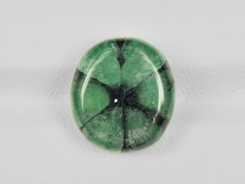 Trapiche Emerald, 10.19ct - Mined in Colombia   Certified by IGI
