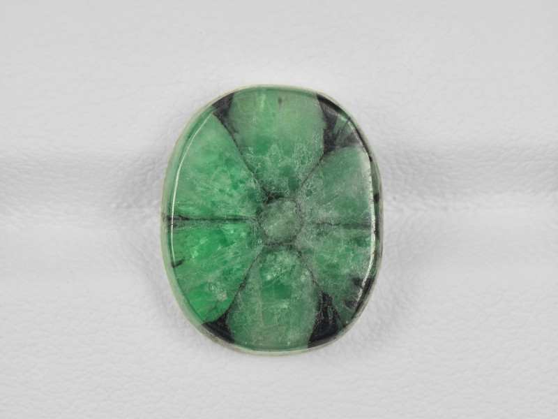 Trapiche Emerald, 9.55ct - Mined in Colombia | Certified by IGI