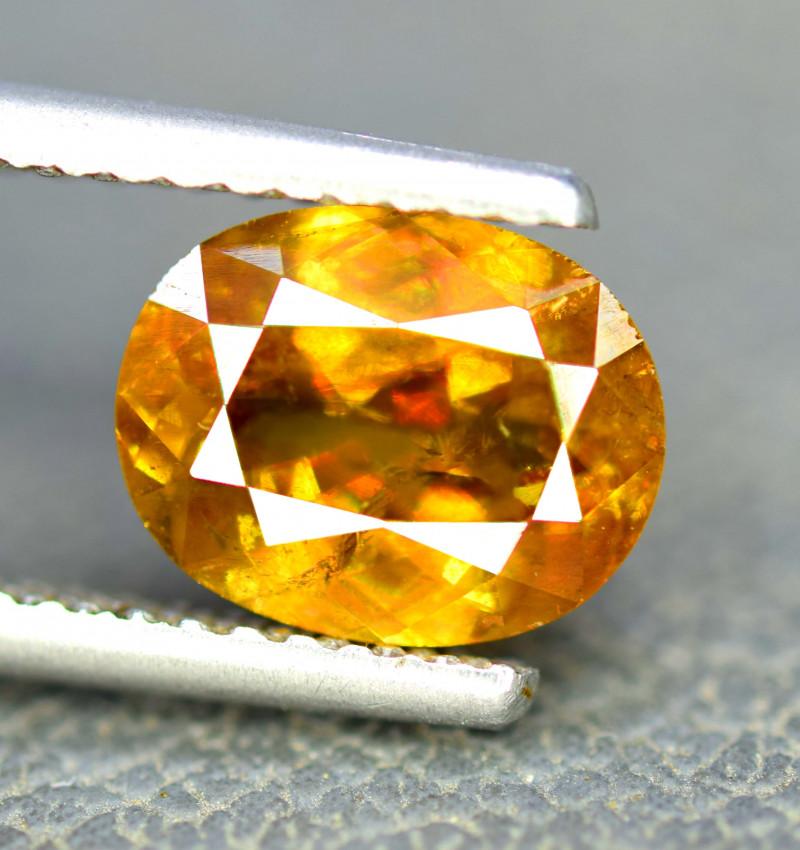 3 10 Carats Full Fire Chrome Sphene Gemstone From Pakistan