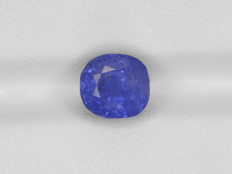 Blue Sapphire, 4.12ct - Mined in Burma   Certified by GRS