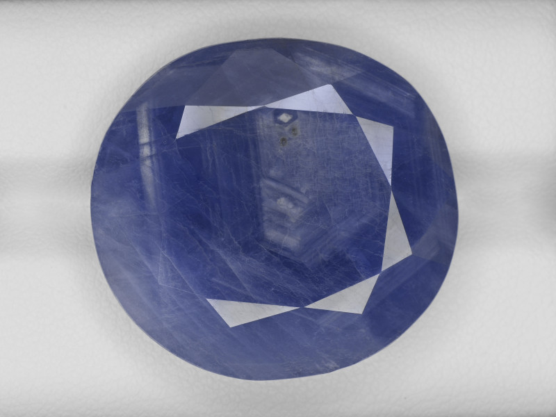 Blue Sapphire, 55.96ct - Mined in Burma   Certified by GRS