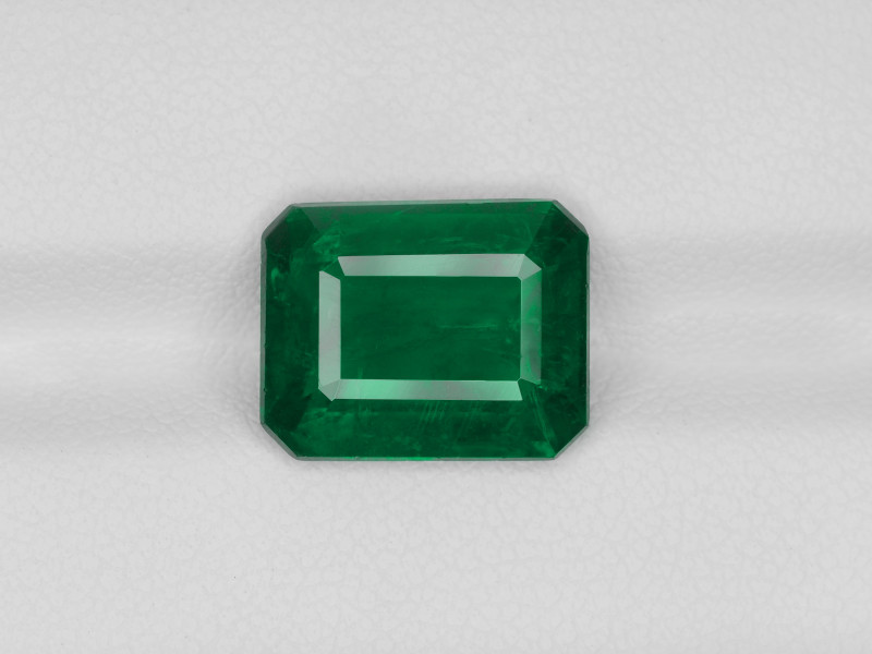 Emerald, 4.83ct - Mined in Zambia | Certified by GRS