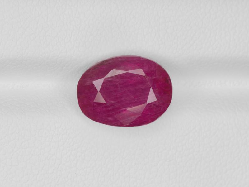 Ruby, 6.09ct - Mined in Burma   Certified by GRS