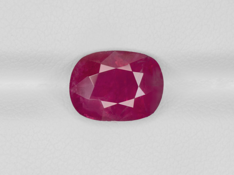 Ruby, 3.93ct - Mined in Burma   Certified by GRS