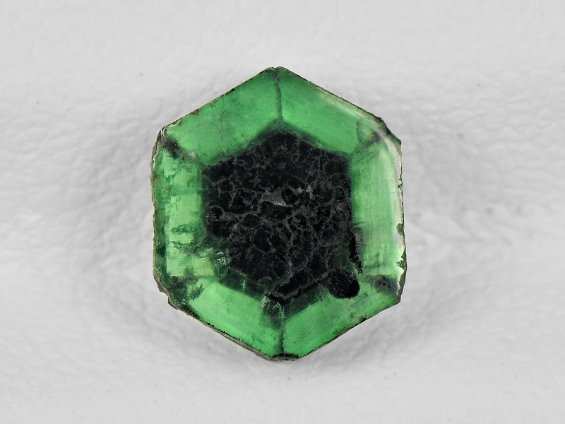 Trapiche Emerald, 1.00ct - Mined in Colombia   Certified by IGI