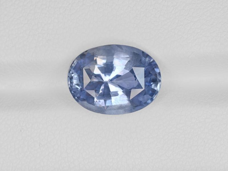 Blue Sapphire, 7.96ct - Mined in Sri Lanka | Certified by IGI