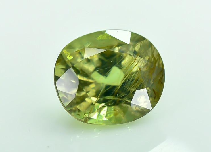 0.76 Crt Certified Chrysoberyl Alexandrite Faceted Gemstone