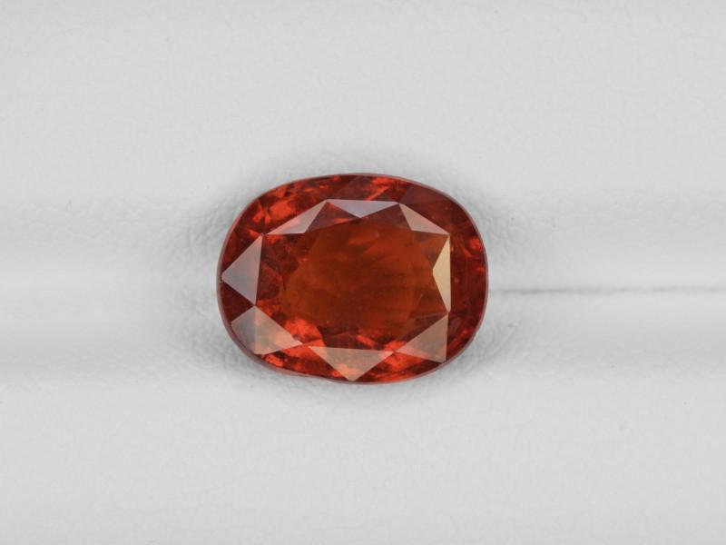 Hessonite Garnet, 3.92ct - Mined in Sri Lanka | Certified by IGI