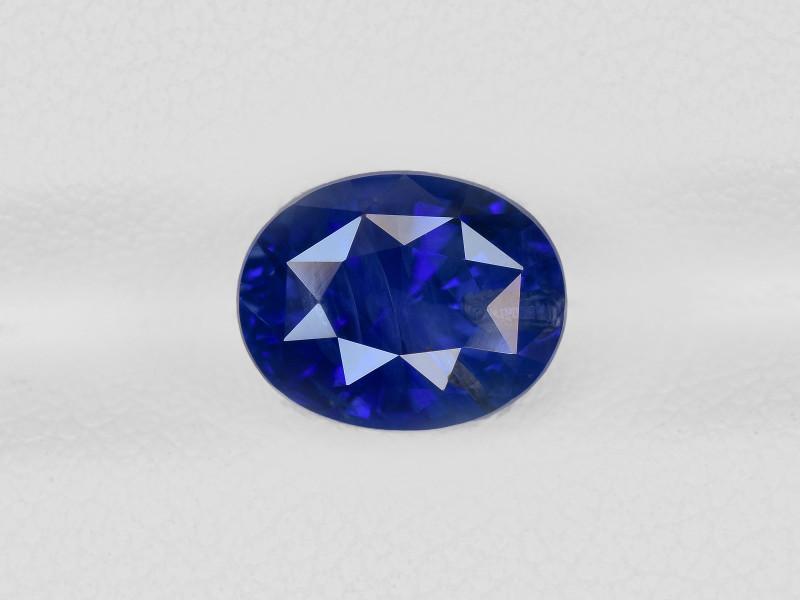 Blue Sapphire, 3.70ct - Mined in Sri Lanka | Certified by GRS