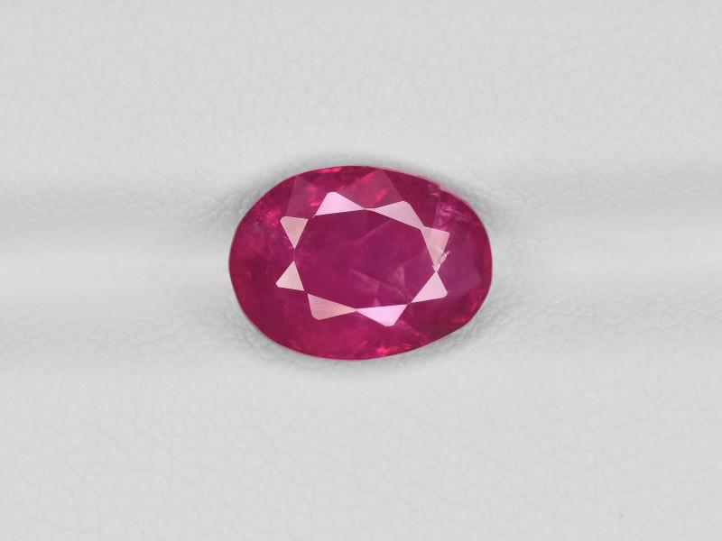 Ruby, 3.44ct - Mined in Burma | Certified by IGI