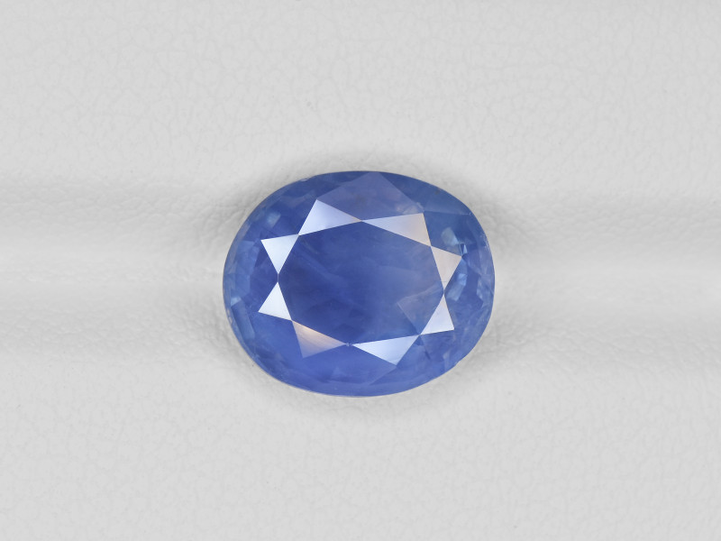 Blue Sapphire, 5.04ct - Mined in Kashmir | Certified by GIA & GRS