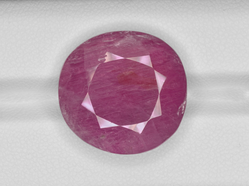 Pink Sapphire, 30.81ct - Mined in Burma | Certified by GRS
