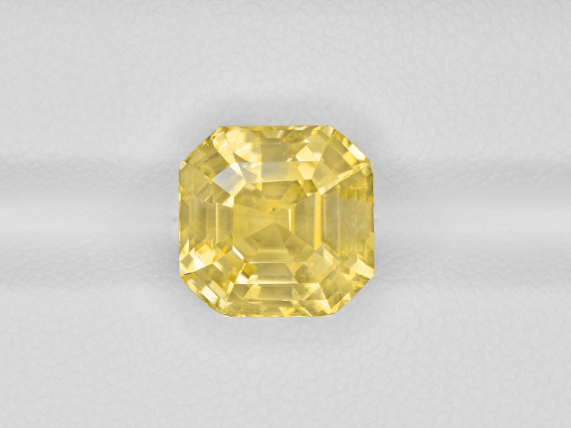Yellow Sapphire, 7.72ct - Mined in Sri Lanka   Certified by GRS