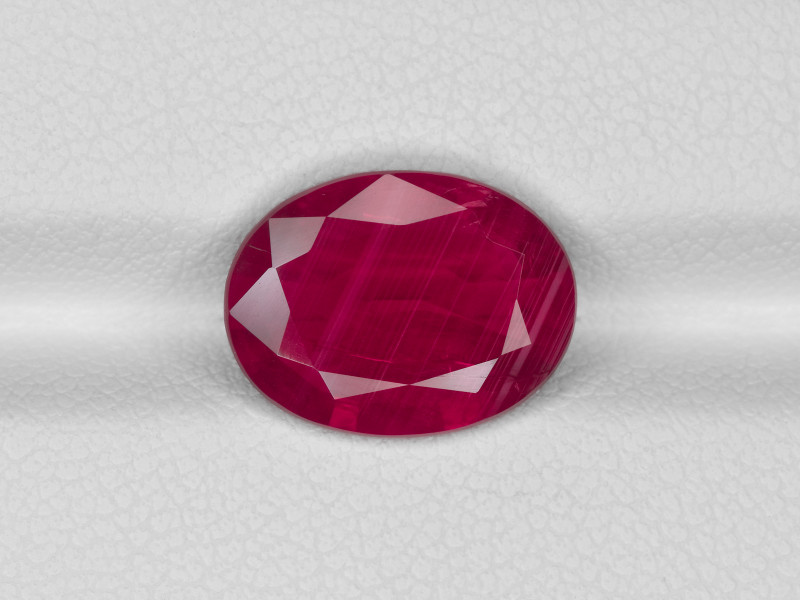 Ruby, 4.14ct - Mined in Mozambique   Certified by GRS & IGI