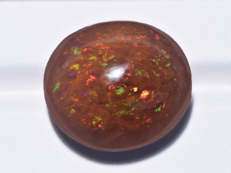 Opal, 35.60ct - Mined in Ethiopia | Certified by GII