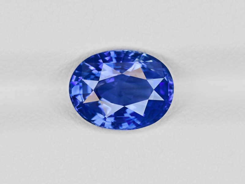 Blue Sapphire, 3.14ct - Mined in Madagascar | Certified by GIA