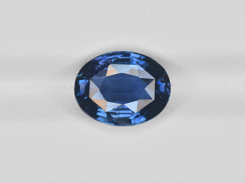Blue Sapphire, 4.06ct - Mined in Madagascar   Certified by GRS