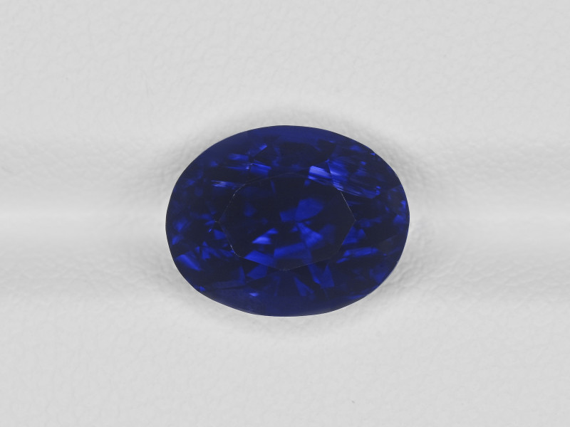 Blue Sapphire, 5.72ct - Mined in Madagascar | Certified by GRS