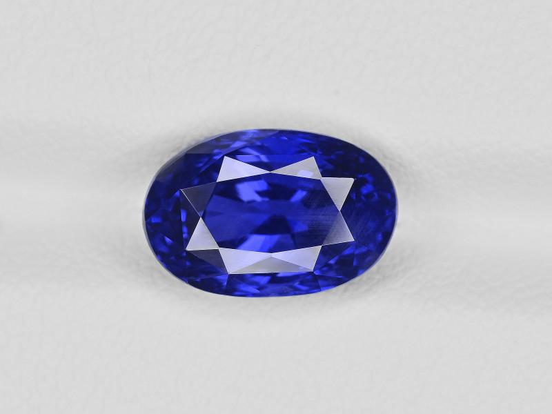Blue Sapphire, 5.12ct - Mined in Sri Lanka | Certified by GRS