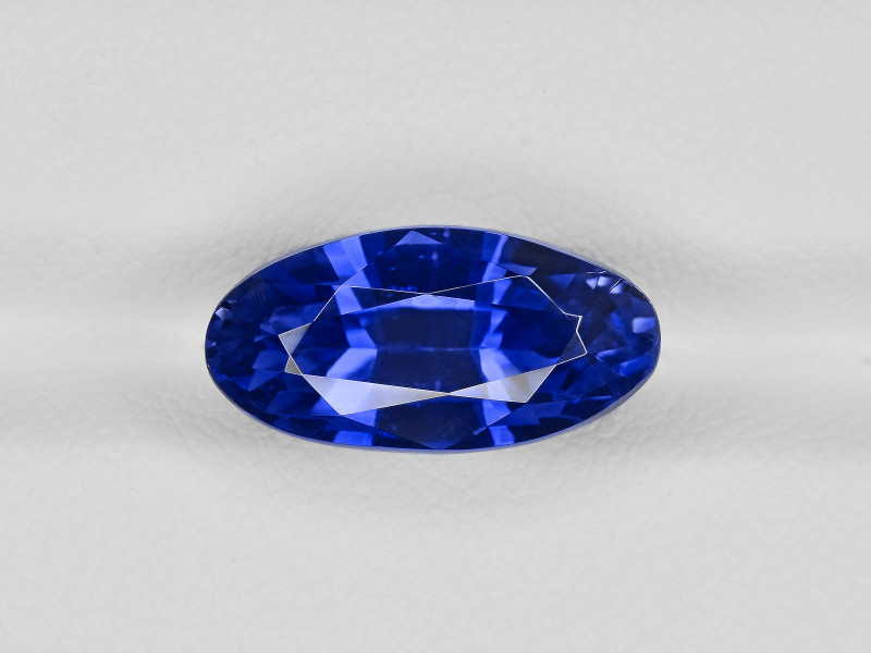 Blue Sapphire, 10.68ct - Mined in Burma | Certified by GRS