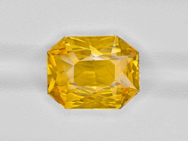 Yellow Sapphire, 8.40ct - Mined in Sri Lanka | Certified by GRS