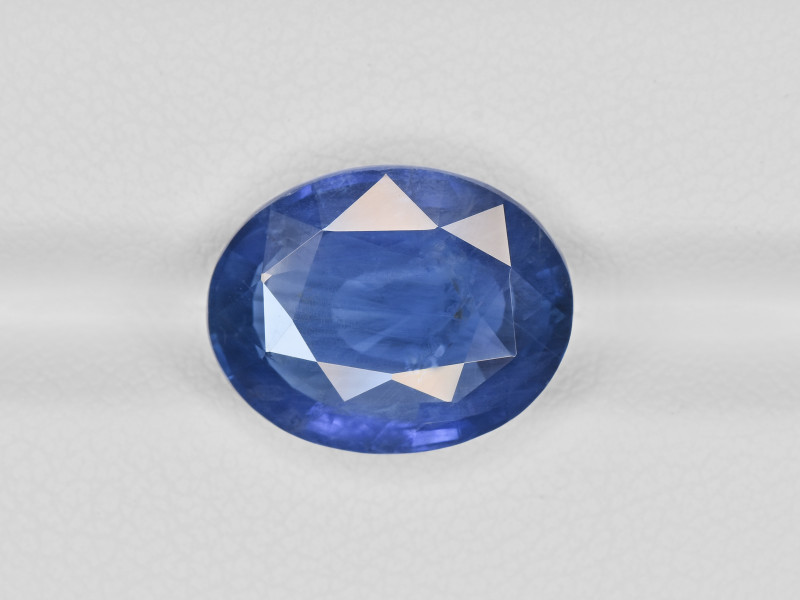 Blue Sapphire, 8.38ct - Mined in Burma   Certified by GIA