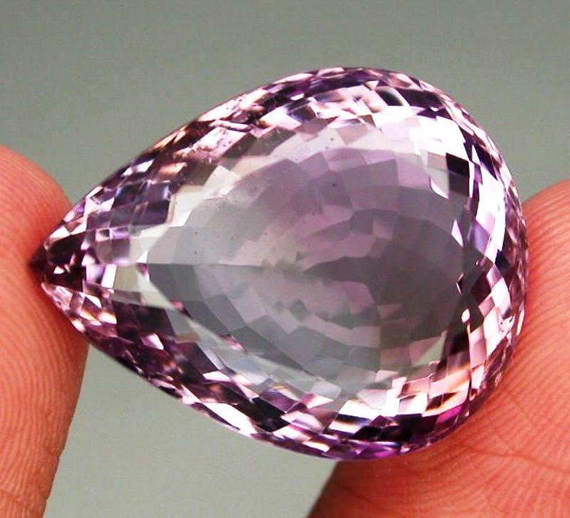 28.19 ct.  100% Natural Top Bi Colors Purple Yellow Ametrine