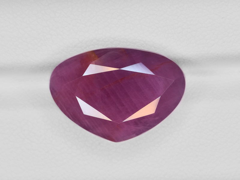 Ruby, 17.66ct - Mined in Liberia | Certified by GII