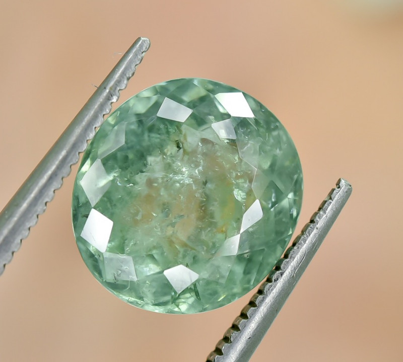 4.51 Crt Certified Paraiba Tourmaline Faceted Gemstone
