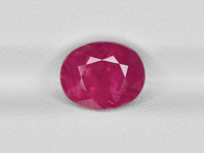 Ruby, 2.98ct - Mined in Burma   Certified by GRS