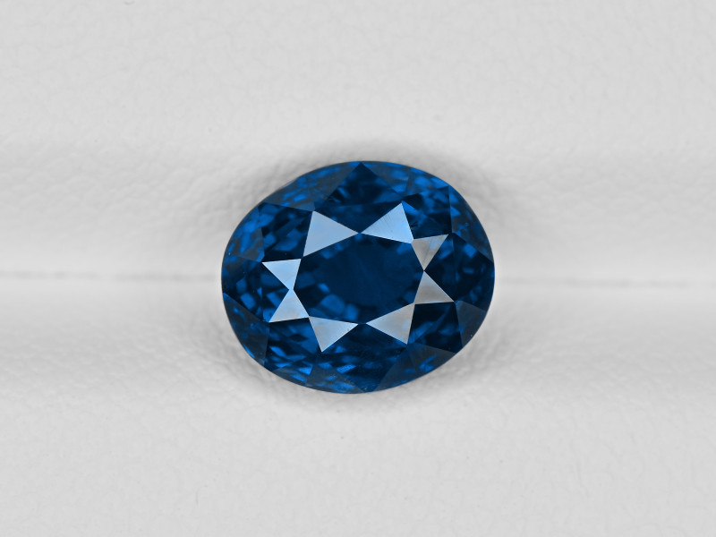 Blue Sapphire, 3.05ct - Mined in Madagascar | Certified by GRS