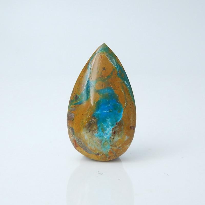 Rare Blue 13cts Blue Opal Cabochon, October Birthstone, Blue Opal Bead C979