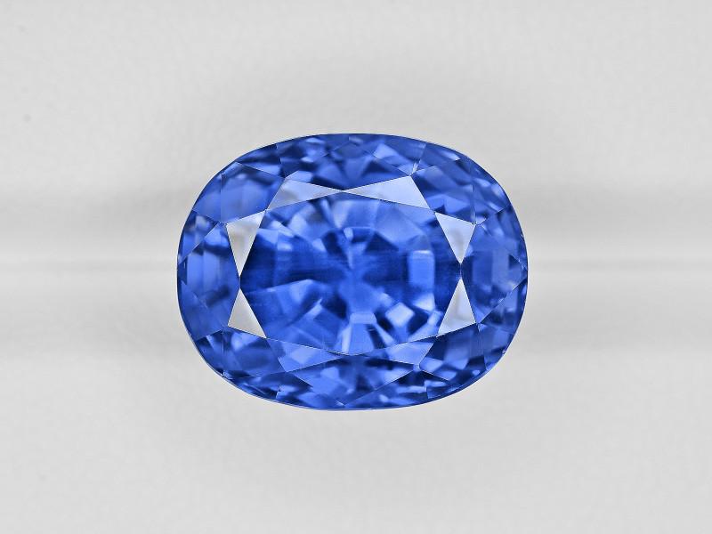 Blue Sapphire, 17.92ct - Mined in Burma | Certified by GRS