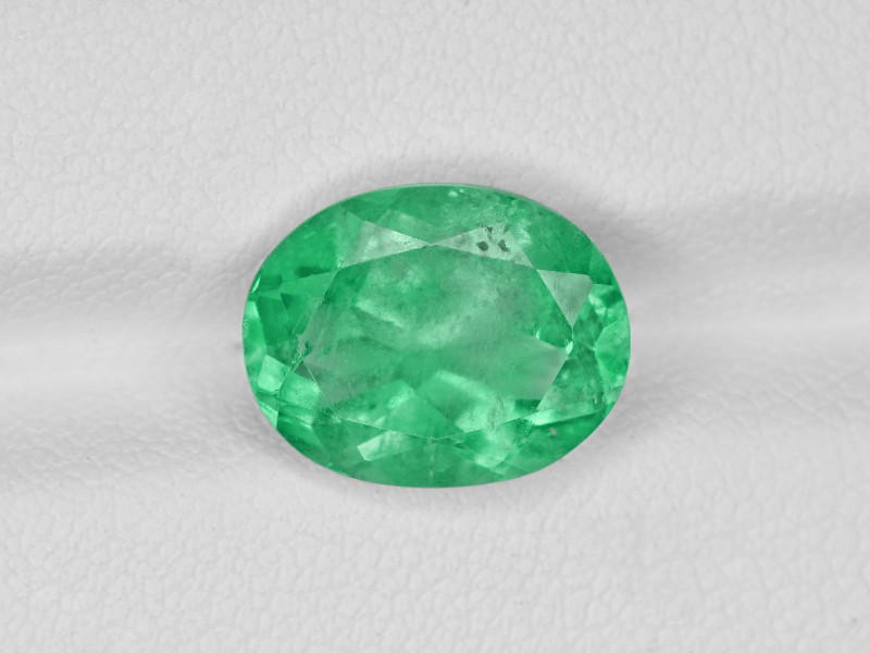Emerald, 3.65ct - Mined in Colombia | Certified by GRS
