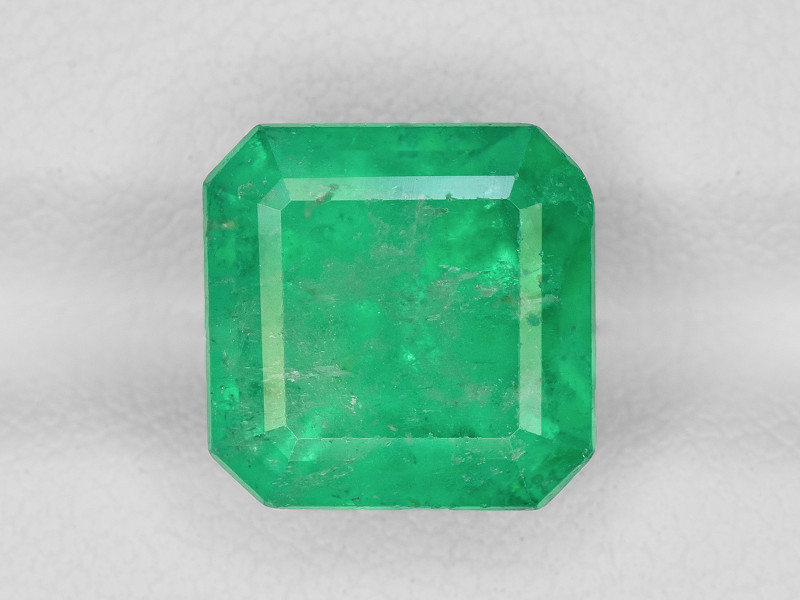 Emerald, 4.45ct - Mined in Colombia | Certified by GRS