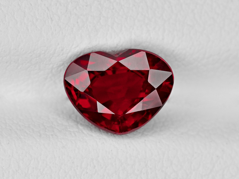 Ruby, 2.07ct - Mined in Mozambique | Certified by GRS