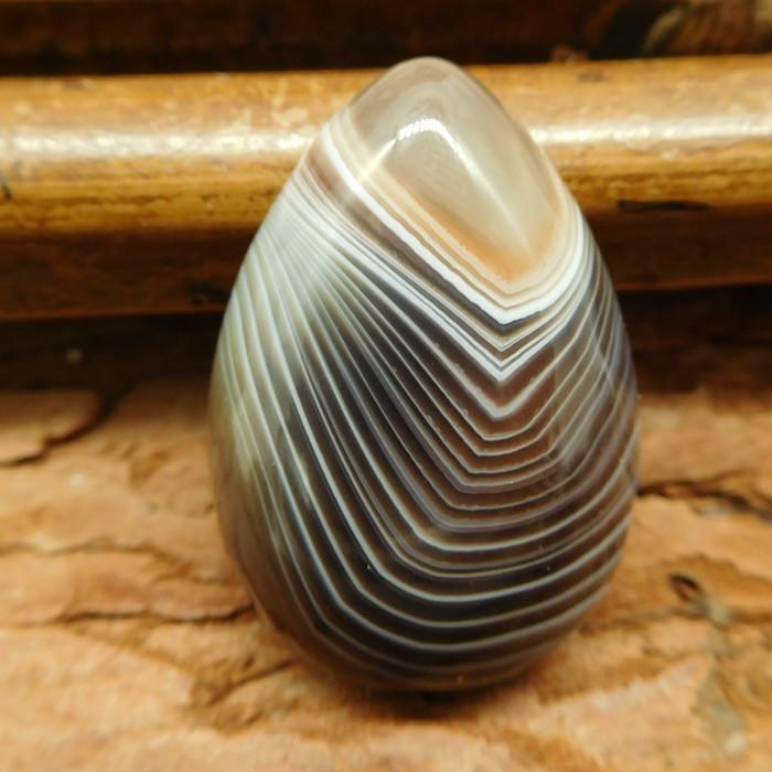 Botswana agate cabochon bead (G0517)