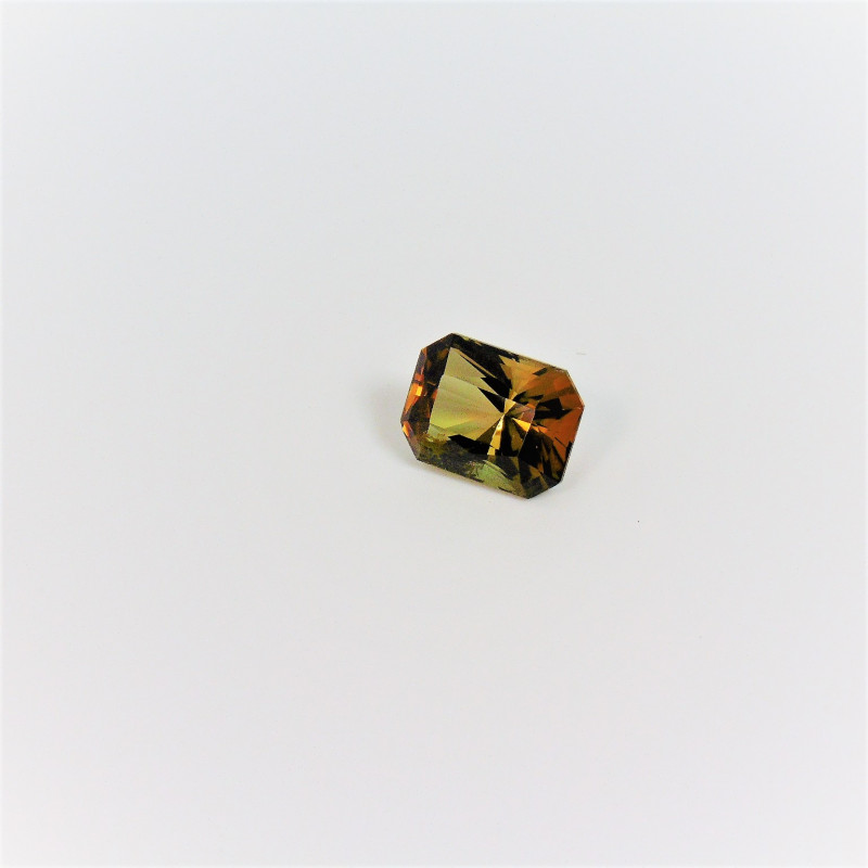 Amazing Multi color Parti Tourmaline Gemstone 2.685 cts