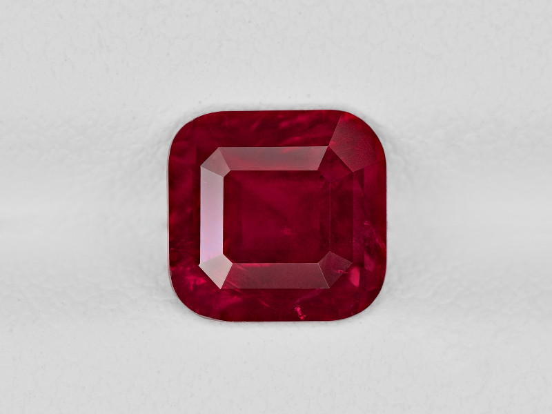 Ruby, 2.12ct - Mined in Tanzania   Certified by GRS