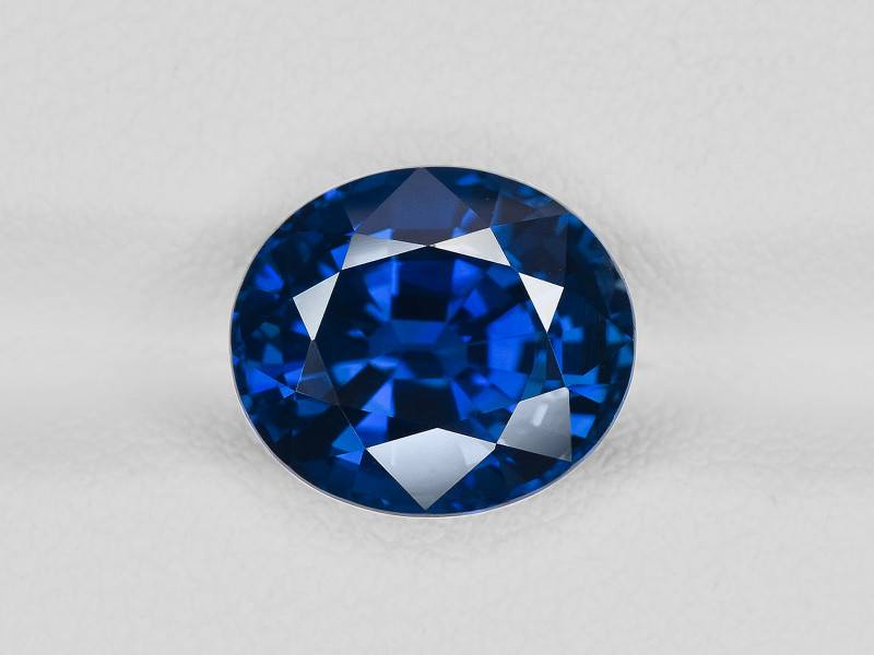 Blue Sapphire, 6.61ct - Mined in Madagascar | Certified by GIA & GRS