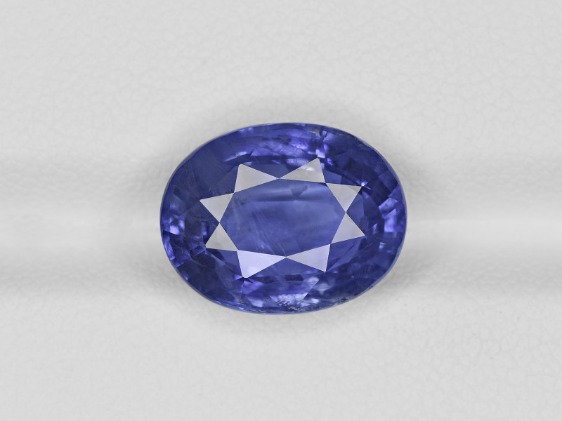 Blue Sapphire, 8.61ct - Mined in Sri Lanka   Certified by GIA