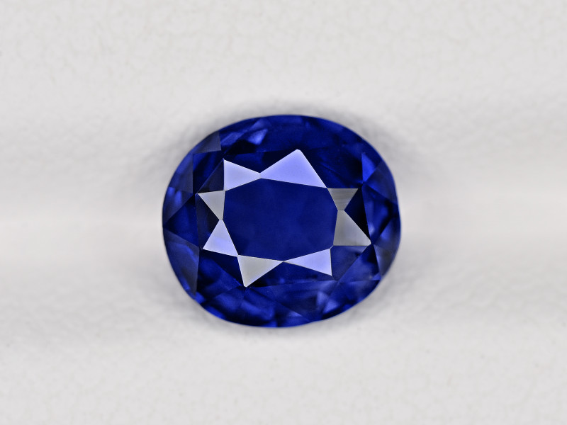 Blue Sapphire, 2.30ct - Mined in Sri Lanka | Certified by GRS