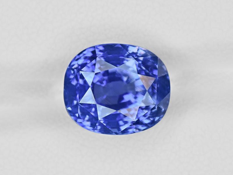 Blue Sapphire, 8.67ct - Mined in Sri Lanka | Certified by GRS