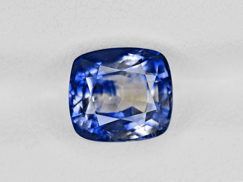 Blue Sapphire, 3.59ct - Mined in Kashmir | Certified by GRS