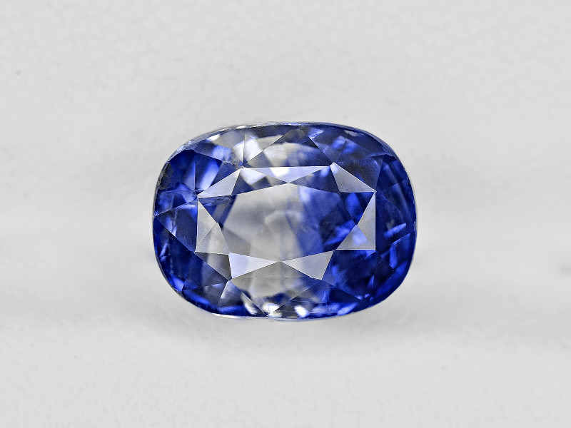 Blue Sapphire, 5.26ct - Mined in Kashmir | Certified by GRS